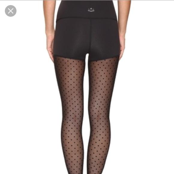 3324d69f1ec96 Beyond Yoga Pants - Beyond yoga Polka dot mesh back leggings